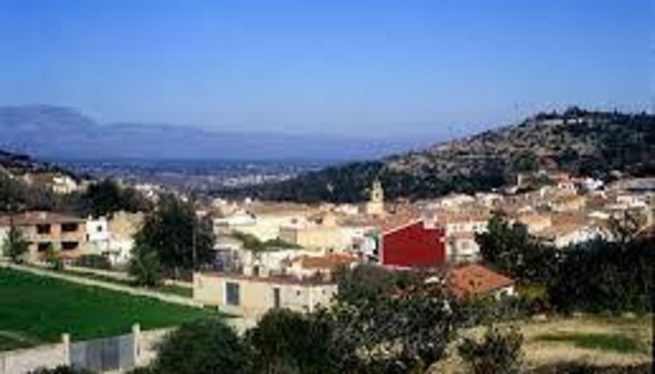 Imatge del poble de Godall, al Montsià.