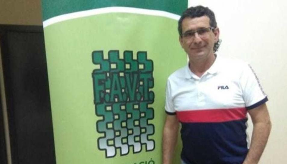 El president de la FAVT, Alfonso López.