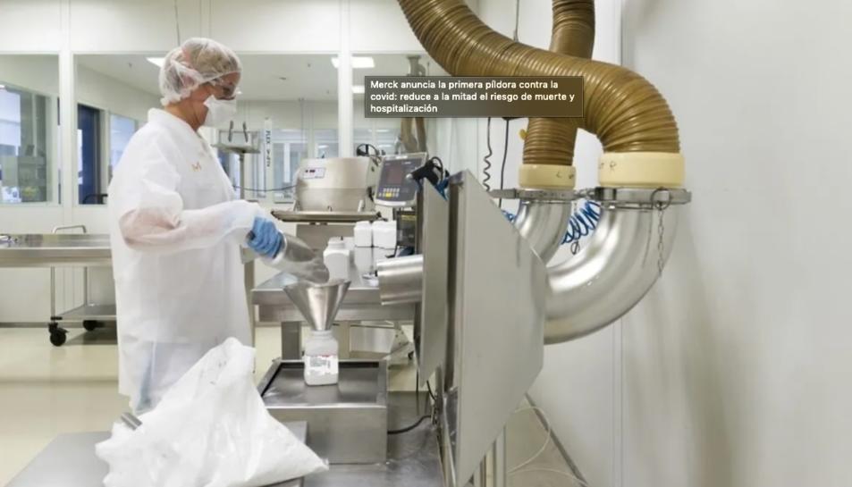 Imatge dels laboratoris de Merck.