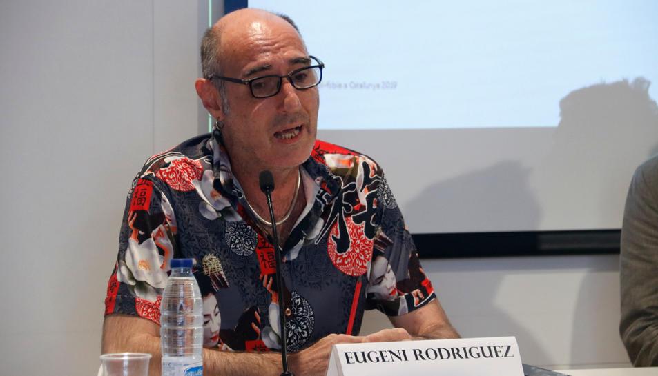 Eugeni Rodríguez, president de l'Observatori Contra l'Homofòbia.