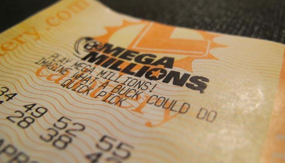 Imatge d'arxiu d'un bitllet de loteria dels EUA.
