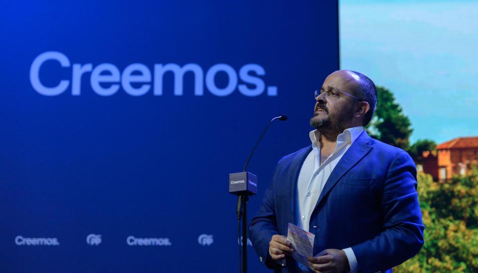 El president del PPC, Alejandro Fernández.