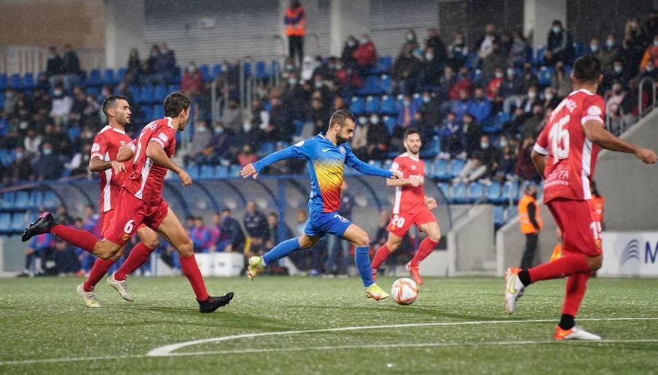 Una imatge de l'Andorra-Nàstic.