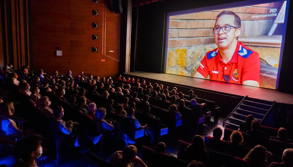 La projecció del documental aquest dimarts al Teatre Tarragona.