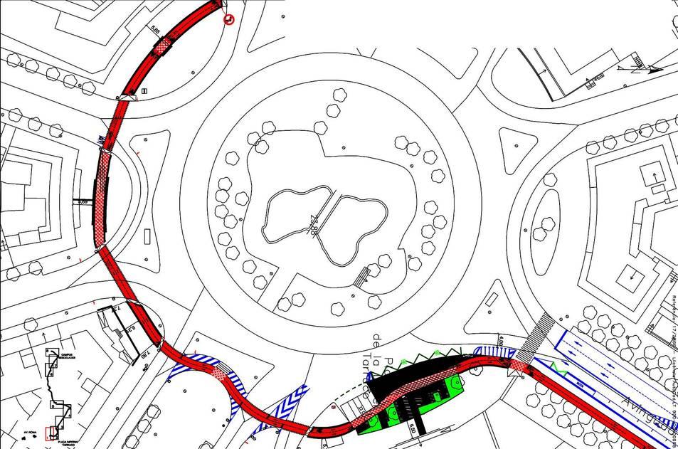 Projecte modificat del carril bici (Govern ERC)