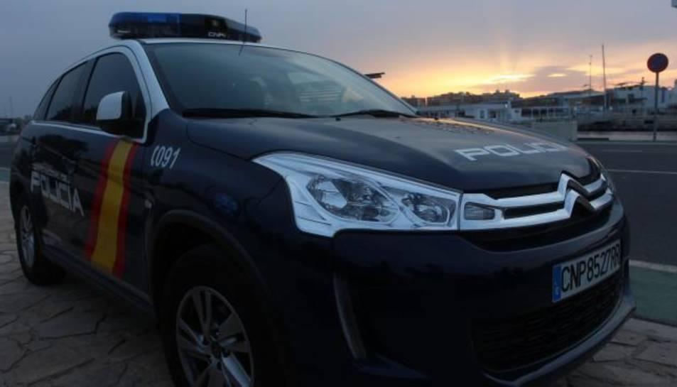 Un vehicle de la Policia Nacional.