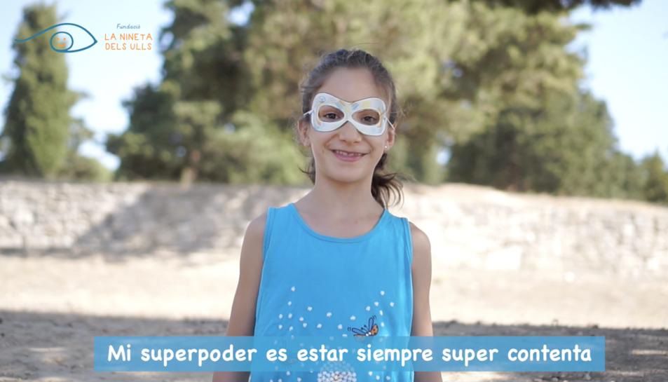 Imatge del vídeo promocional de la '1a Jornada de les Superheroïnes i els Superherois'.