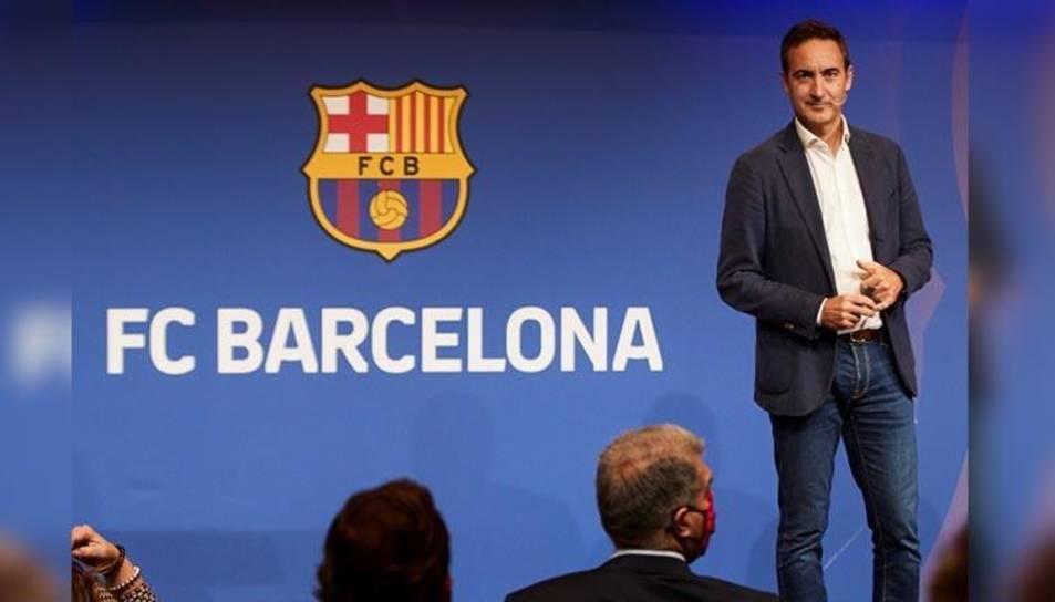 Ferran Reverter, CEO del Barça.