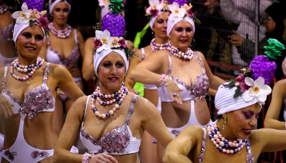 Imatge d'arxiu de la rua de Carnaval de Sitges de l'any 2019.