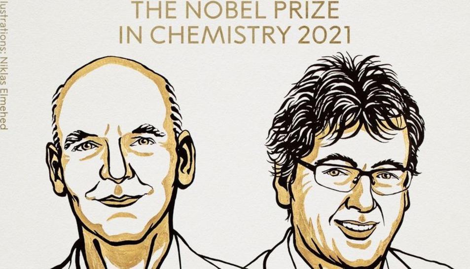 Il·lustració del Premi Nobel de Química.