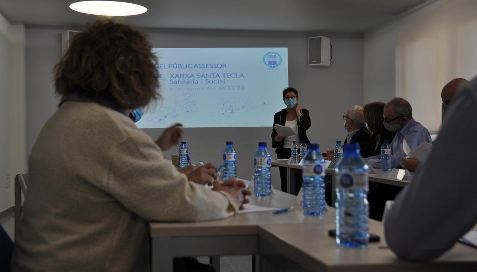 Imatge de l'acte de presentació del Panell Públic Assessor de la Xarxa Santa Tecla.