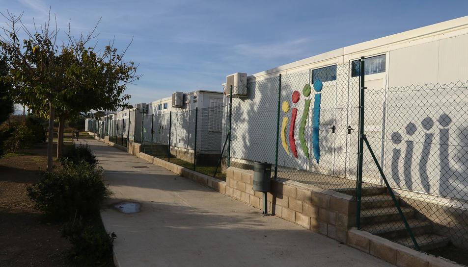 L'Escola Els Ganxets va votar traslladar-se el 2019.
