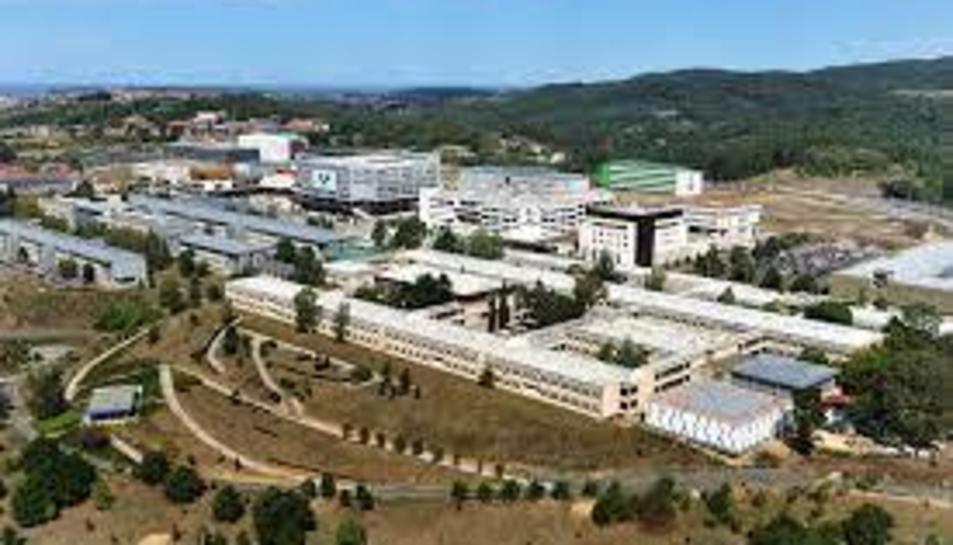 Imatge d'arxiu del Campus de Biscaia de la Universitat del País Basc.