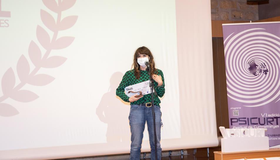 Susan Béjar, amb Distancias, es va endur dos premis.
