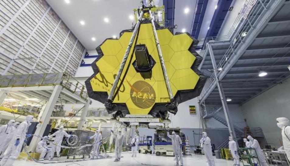 El telescopi espacial James Webb.