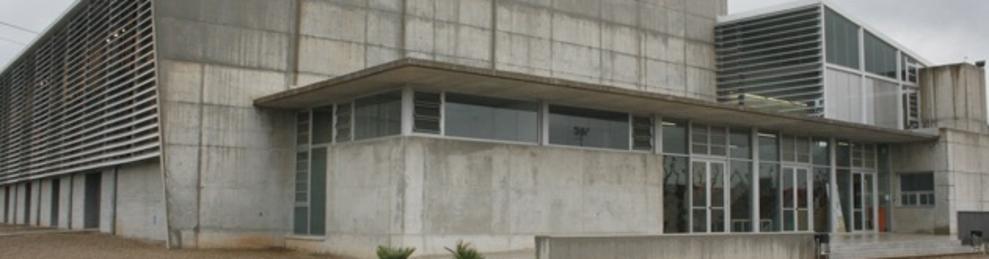 Imatge de l'edifici del Pavelló del Morell.