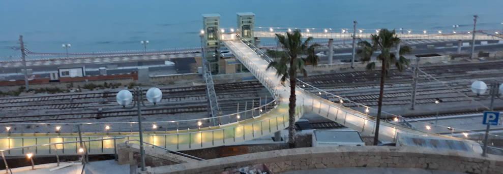Imatge d'una de les proves que es van realitzar a la passarel·la la setmana passada.