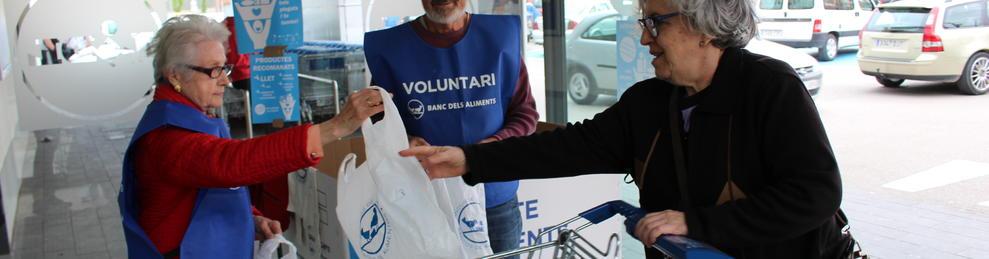 El Gran Recapte necessita 4.500 voluntaris a la demarcació deTarragona.