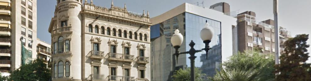 Imagen de archivo del edificio de la Cámara de Comercio de Tarragona.