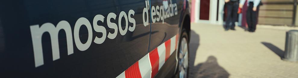 Imagen de archivo de una comisaría de los Mossos d'Esquadra.