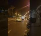 Frame del vídeo en què es mostra com els agents abaten el cinquè terrorista de Cambrils.