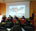 El acto de inauguración en la Facultad de Geografía y Turismo.