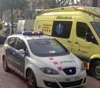 Imatge d'arxiu del SEM i un vehicle policial.