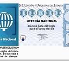 Un décimo de la Lotería Nacional.