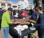 Es va poder degustar la recepta tradicional d'abordo de la Confraria de Pescadors de Cambrils.