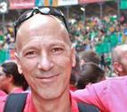 Josep Maria Clment con la camisa de la Joves.