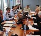 Imatge de la Junta Local de Seguretat de Roda de Berà presidida per