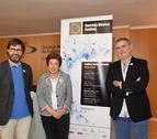Pep Solórzano, programador del Auditorio, Ana Vilallonga, presidenta del AECC Tarragona y Àngel Òdena, director artístico del festival.