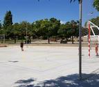 Imatge de la nova pista, situada al Parc de Santa Llúcia.