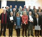 Fotografía de familia con motivo de la constitución oficial del Pacto del Penedès Marítim.