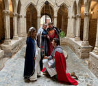 Els protagonistes de la 32a edició de la Setmana Medieval de Montblanc.