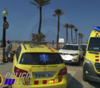 Hasta el lugar se han desplazado el SEM, Policía Local y Mossos d'Esquadra.