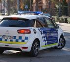 Imatge d'una patrulla de la Policia Local de Calafell.