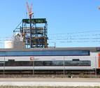Imagen de archivo de un tren de cercanías.