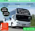 Imagen promocional del servicio de bus de Constantí especial por Santa Tecla.