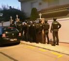 Operacií policial a Calafell contra el tràfic de drogues.