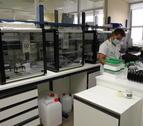 Un laboratori on s'analitzen mostres de covid-19.