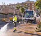 Imagen de la nueva máquina hidrolimpiadora.