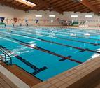 Imagen de la piscina del Palau Municipal d'Esports de Cambrils.