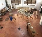 El taller de Joan Miró és un dels espais del Mas que es poden visitar.
