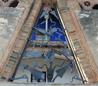 Detall del treball de Josep M. Jujol a la Casa Bofarull dels Pallaresos.