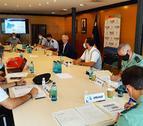 Imatge de la reunió de la Junta Loccal de Seguretat de Salou.