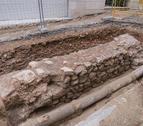 Los restos encontrados en la torre del Mussol.