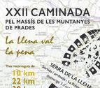 La caminata por el Macizo de las Montañas de Prades llega a la XXII edición