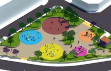 El Morell renova la Plaça de l'Estatut amb tres espais infantils