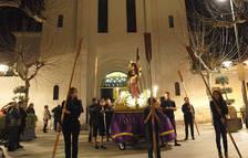 Cambrils trasllada a Jesús Natzaré de parròquia en un acte molt emotiu